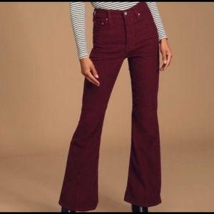 Levi's Rib-Cage Corduroy Pants